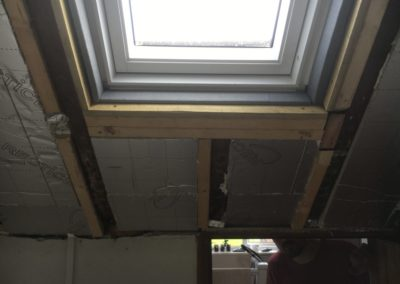 velux fitted insulation added