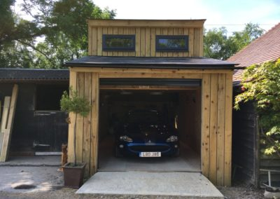 garage insulated could become an office