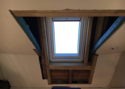 velux window installed
